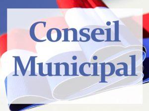 Read more about the article CONSEIL MUNICIPAL – MERCREDI 27 OCTOBRE – ORDRE DU JOUR
