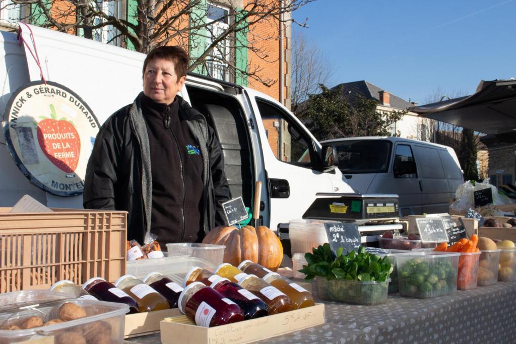 Photo du marché d' Entraigues