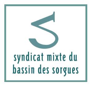 Logo du sndicat mixte du bassin des sorgues