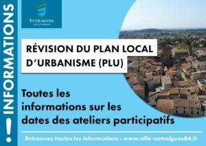 Read more about the article RÉVISION DU PLAN LOCAL D'URBANISME (PLU) : dates des réunions thématiques