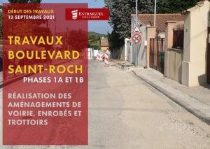 Read more about the article Travaux boulevard Saint-Roch à partir du 13 septembre 2021