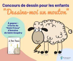 Read more about the article Concours de dessin pour les enfants   Dessine-moi un mouton