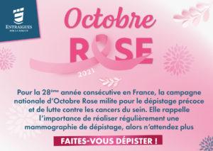 Read more about the article Entraigues soutient la lutte contre le cancer du sein